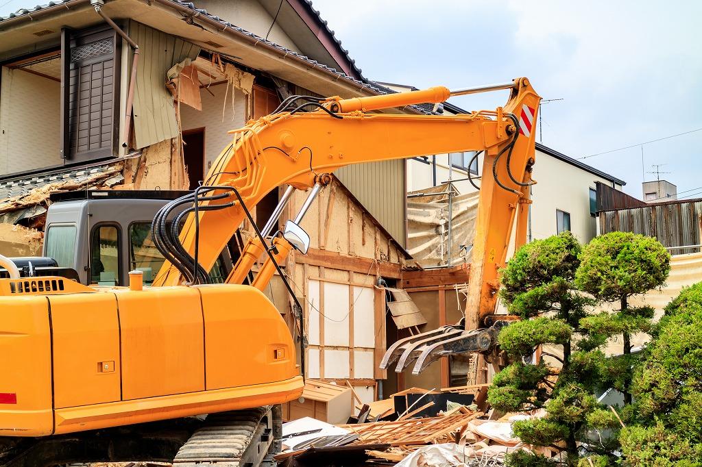 木造住宅の解体工事でかかる費用の項目とは?