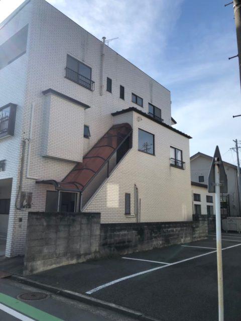 店舗兼住居鉄骨3階建て解体工事